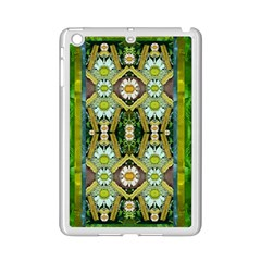 Bread Sticks And Fantasy Flowers In A Rainbow iPad Mini 2 Enamel Coated Cases