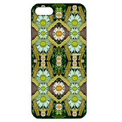 Bread Sticks And Fantasy Flowers In A Rainbow Apple iPhone 5 Hardshell Case with Stand