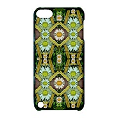 Bread Sticks And Fantasy Flowers In A Rainbow Apple iPod Touch 5 Hardshell Case with Stand