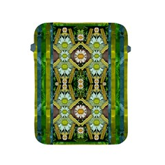 Bread Sticks And Fantasy Flowers In A Rainbow Apple iPad 2/3/4 Protective Soft Cases