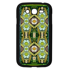 Bread Sticks And Fantasy Flowers In A Rainbow Samsung Galaxy Grand DUOS I9082 Case (Black)