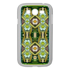 Bread Sticks And Fantasy Flowers In A Rainbow Samsung Galaxy Grand DUOS I9082 Case (White)