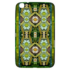 Bread Sticks And Fantasy Flowers In A Rainbow Samsung Galaxy Tab 3 (8 ) T3100 Hardshell Case