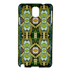 Bread Sticks And Fantasy Flowers In A Rainbow Samsung Galaxy Note 3 N9005 Hardshell Case