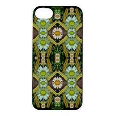 Bread Sticks And Fantasy Flowers In A Rainbow Apple iPhone 5S/ SE Hardshell Case