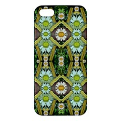 Bread Sticks And Fantasy Flowers In A Rainbow iPhone 5S/ SE Premium Hardshell Case