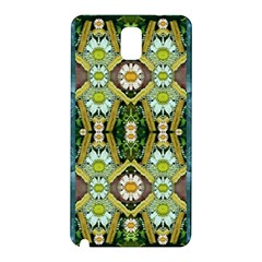 Bread Sticks And Fantasy Flowers In A Rainbow Samsung Galaxy Note 3 N9005 Hardshell Back Case