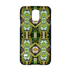 Bread Sticks And Fantasy Flowers In A Rainbow Samsung Galaxy S5 Hardshell Case