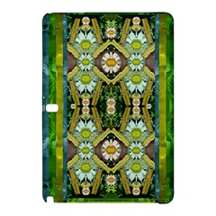 Bread Sticks And Fantasy Flowers In A Rainbow Samsung Galaxy Tab Pro 10.1 Hardshell Case