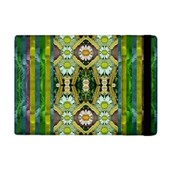 Bread Sticks And Fantasy Flowers In A Rainbow iPad Mini 2 Flip Cases