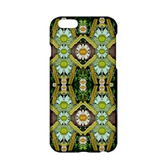 Bread Sticks And Fantasy Flowers In A Rainbow Apple iPhone 6/6S Hardshell Case