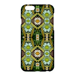 Bread Sticks And Fantasy Flowers In A Rainbow Apple iPhone 6 Plus/6S Plus Hardshell Case