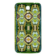 Bread Sticks And Fantasy Flowers In A Rainbow Samsung Galaxy Mega I9200 Hardshell Back Case