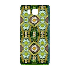 Bread Sticks And Fantasy Flowers In A Rainbow Samsung Galaxy Alpha Hardshell Back Case