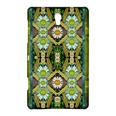 Bread Sticks And Fantasy Flowers In A Rainbow Samsung Galaxy Tab S (8.4 ) Hardshell Case