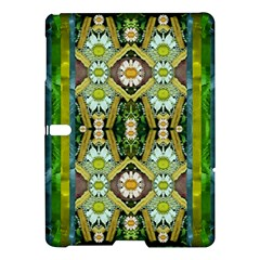 Bread Sticks And Fantasy Flowers In A Rainbow Samsung Galaxy Tab S (10.5 ) Hardshell Case
