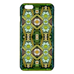 Bread Sticks And Fantasy Flowers In A Rainbow iPhone 6 Plus/6S Plus TPU Case
