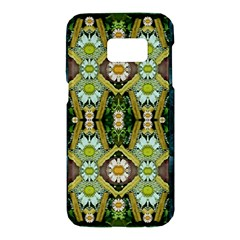 Bread Sticks And Fantasy Flowers In A Rainbow Samsung Galaxy S7 Hardshell Case