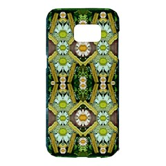 Bread Sticks And Fantasy Flowers In A Rainbow Samsung Galaxy S7 Edge Hardshell Case