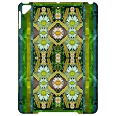 Bread Sticks And Fantasy Flowers In A Rainbow Apple iPad Pro 9.7   Hardshell Case