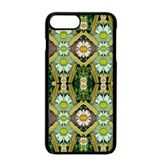 Bread Sticks And Fantasy Flowers In A Rainbow Apple iPhone 7 Plus Seamless Case (Black)