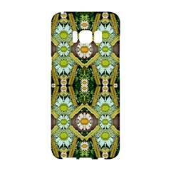 Bread Sticks And Fantasy Flowers In A Rainbow Samsung Galaxy S8 Hardshell Case