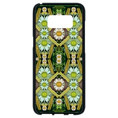 Bread Sticks And Fantasy Flowers In A Rainbow Samsung Galaxy S8 Black Seamless Case