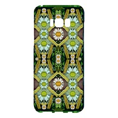Bread Sticks And Fantasy Flowers In A Rainbow Samsung Galaxy S8 Plus Hardshell Case