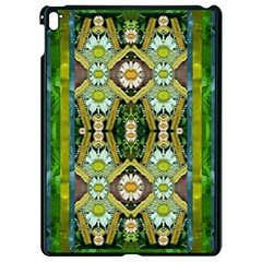 Bread Sticks And Fantasy Flowers In A Rainbow Apple iPad Pro 9.7   Black Seamless Case