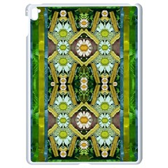 Bread Sticks And Fantasy Flowers In A Rainbow Apple iPad Pro 9.7   White Seamless Case