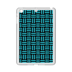 Woven1 Black Marble & Turquoise Colored Pencil (r) Ipad Mini 2 Enamel Coated Cases by trendistuff
