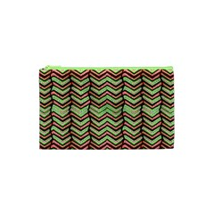 Zig Zag Multicolored Ethnic Pattern Cosmetic Bag (xs) by dflcprintsclothing