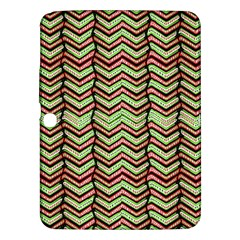 Zig Zag Multicolored Ethnic Pattern Samsung Galaxy Tab 3 (10 1 ) P5200 Hardshell Case  by dflcprintsclothing