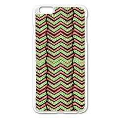 Zig Zag Multicolored Ethnic Pattern Apple Iphone 6 Plus/6s Plus Enamel White Case by dflcprintsclothing