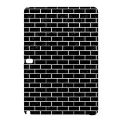 Brick1 Black Marble & White Leather (r) Samsung Galaxy Tab Pro 12 2 Hardshell Case by trendistuff