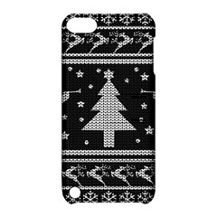 Ugly Christmas Sweater Apple Ipod Touch 5 Hardshell Case With Stand by Valentinaart