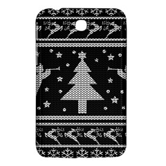 Ugly Christmas Sweater Samsung Galaxy Tab 3 (7 ) P3200 Hardshell Case  by Valentinaart
