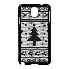 Ugly Christmas Sweater Samsung Galaxy Note 3 Neo Hardshell Case (black) by Valentinaart