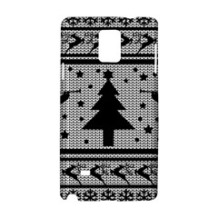 Ugly Christmas Sweater Samsung Galaxy Note 4 Hardshell Case by Valentinaart