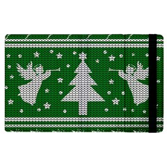 Ugly Christmas Sweater Apple Ipad Pro 9 7   Flip Case by Valentinaart