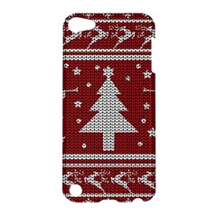 Ugly Christmas Sweater Apple Ipod Touch 5 Hardshell Case by Valentinaart