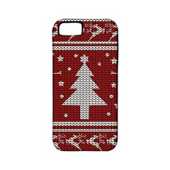 Ugly Christmas Sweater Apple Iphone 5 Classic Hardshell Case (pc+silicone) by Valentinaart
