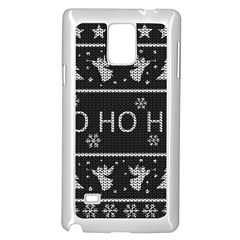 Ugly Christmas Sweater Samsung Galaxy Note 4 Case (white)