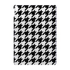 Houndstooth1 Black Marble & White Leather Apple Ipad Pro 10 5   Hardshell Case by trendistuff