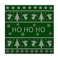 Ugly Christmas Sweater Face Towel by Valentinaart