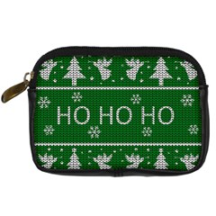 Ugly Christmas Sweater Digital Camera Cases by Valentinaart