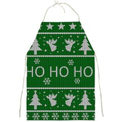 Ugly Christmas Sweater Full Print Aprons