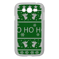Ugly Christmas Sweater Samsung Galaxy Grand Duos I9082 Case (white) by Valentinaart