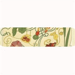 Floral Art Nouveau Large Bar Mats by 8fugoso