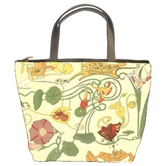 Floral Art Nouveau Bucket Bags by 8fugoso